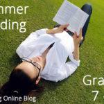 Summer Reading List for Grades 7-12