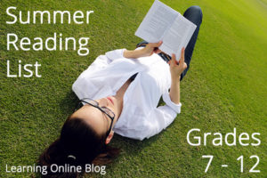 Summer Reading List for Grades 7-12