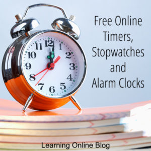 Alarm Clock On Notebooks Free Online Timers Stopwatches And Alarm Clocks