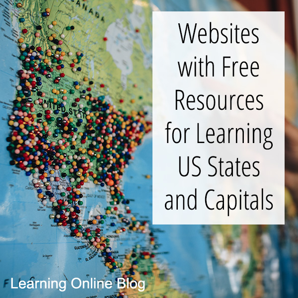 Websites with Free Resources for Learning US States and Capitals on