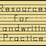 Free Resources for Handwriting Practice