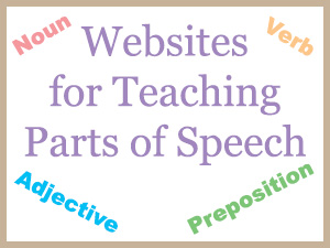 Free Resources for Teaching Parts of Speech