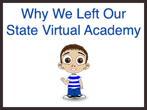 Why We Left Our State Virtual Academy