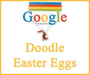 Google Doodle Easter Eggs