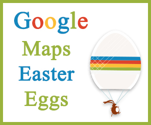 Google Maps Easter Eggs