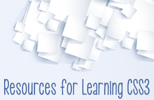 Resources for Learning CSS3