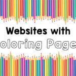 Websites with Coloring Pages