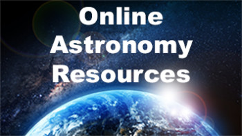 Online Astronomy Resources