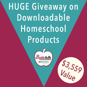 HUGE Giveaway on Downloadable Homeschool Products