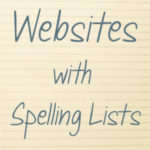 Websites with Spelling Lists