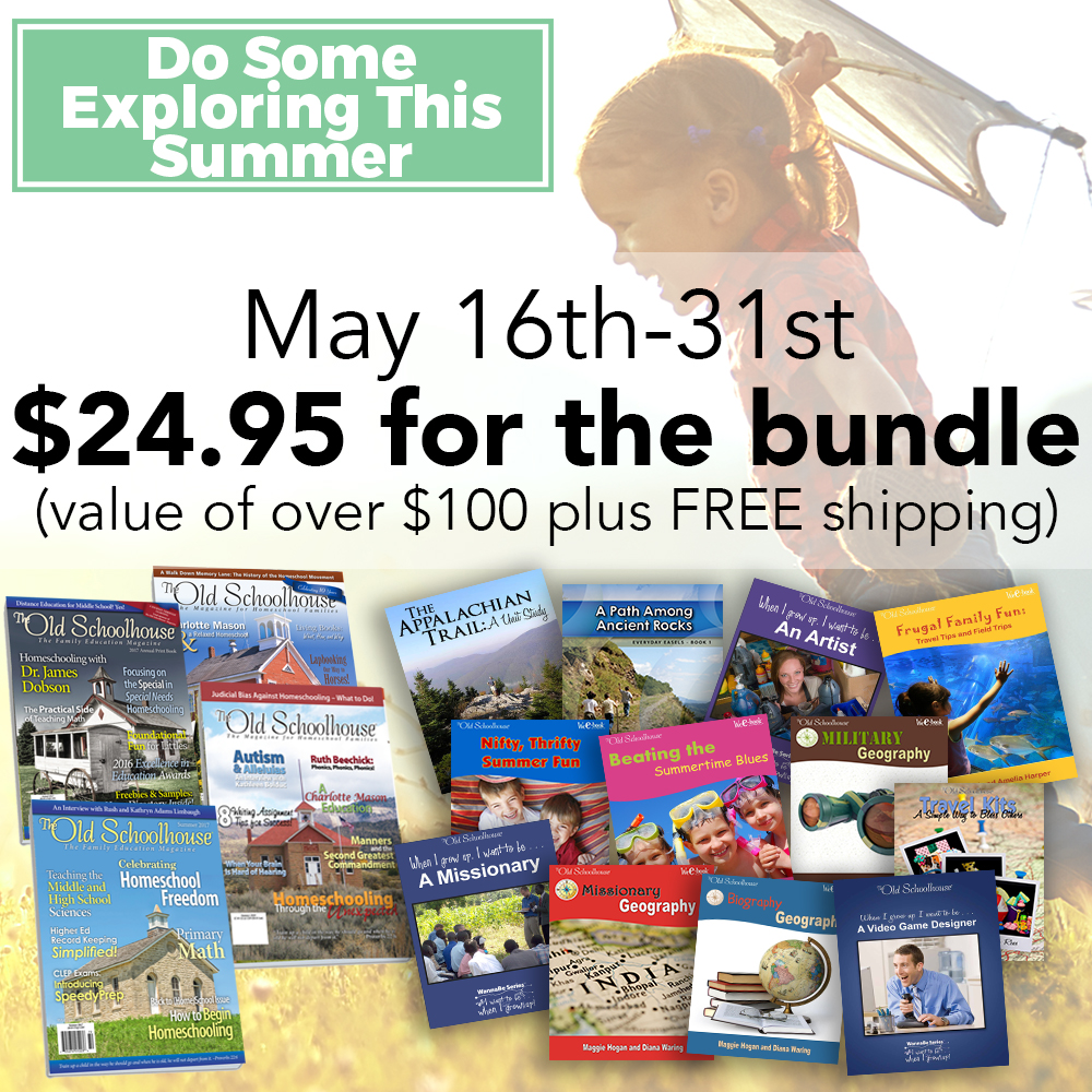 The ultimate directory of homeschool deals get 12 ebooks and 4 print magazines with outdoor activities ancient rocks art and travel tips in the do some exploring this summer bundle for only 2495 fandeluxe Gallery