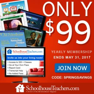 Schoolhouse Teachers for 99
