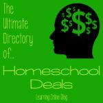The Ultimate Directory of Homeschool Deals