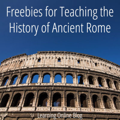 Freebies for Teaching the History of Ancient Rome