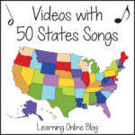 Videos with 50 States Songs
