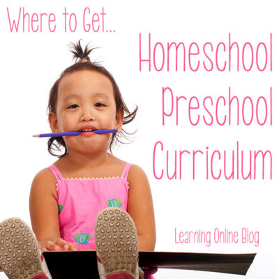 Where to Get Homeschool Preschool Curriculum