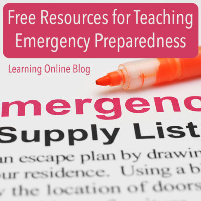 Free Resources for Teaching Emergency Preparedness
