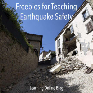 Freebies for Teaching Earthquake Safety