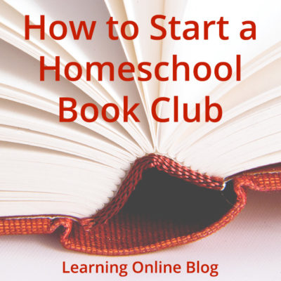 How to Start a Homeschool Book Club