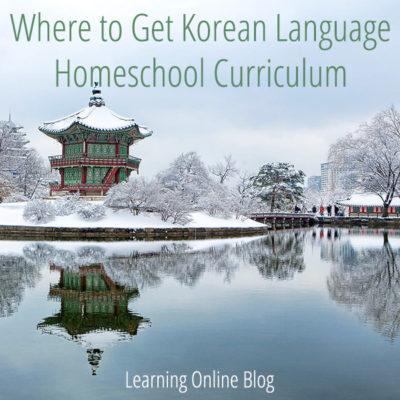Where to Get Korean Language Homeschool Curriculum