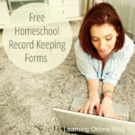 Free Homeschool Record Keeping Forms