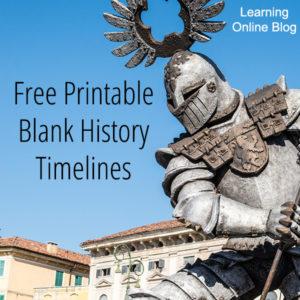 Free Printable Blank History Timelines