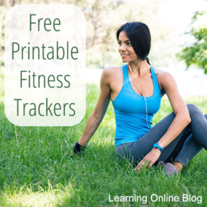 Free Printable Fitness Trackers