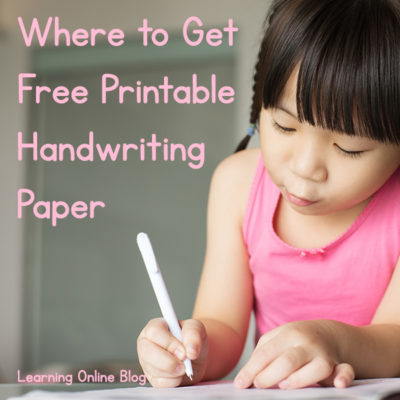 Where to Get Free Printable Handwriting Paper