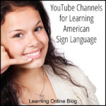 YouTube Channels for Learning American Sign Language