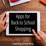 Apps for Back to School Shopping