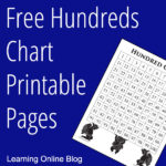 Free Hundreds Chart Printable Pages