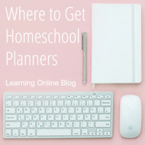 Where to Get Homeschool Planners