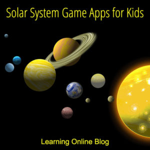 Solar System Game Apps for Kids