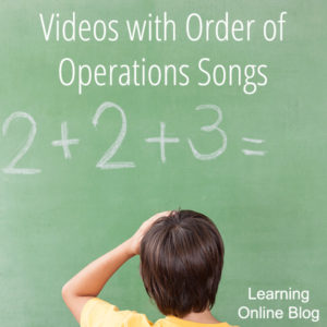 Videos with Order of Operations Songs