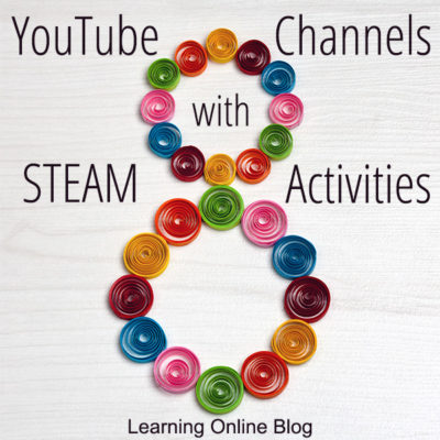 YouTube Channels with STEAM Activities