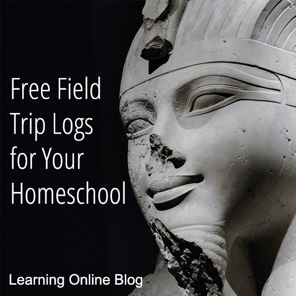 free field trip logs for your homeschool