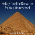 History Timeline Resources for Your Homeschool