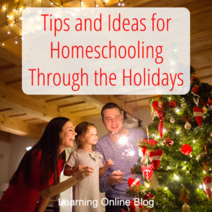 Tips and Ideas for Homeschooling Through the Holidays