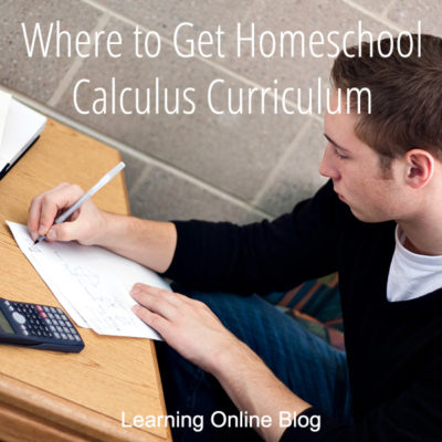 Where to Get Homeschool Calculus Curriculum