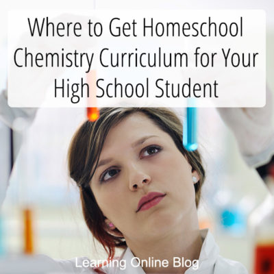 Where to Get Homeschool Chemistry Curriculum for Your High School Student