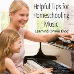 Helpful Tips for Homeschooling Music