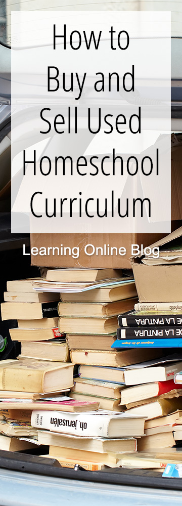 How to Buy and Sell Used Homeschool Curriculum