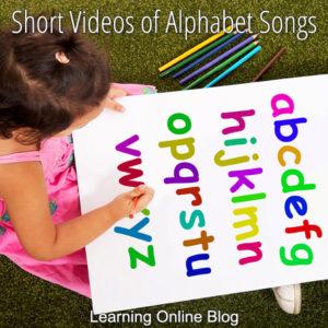 Short Videos of Alphabet Songs