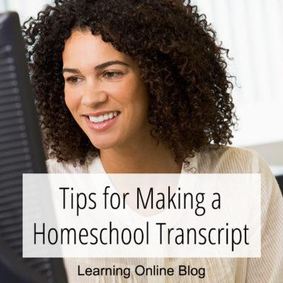 Tips for Making a Homeschool Transcript