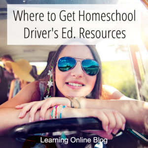 Where to Get Homeschool Driver's Ed. Resources
