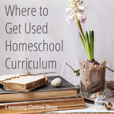 Where to Get Used Homeschool Curriculum