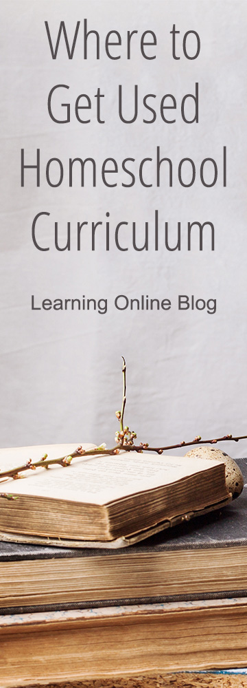 Find out where you can buy used homeschool curriculum so that you can save money this school year.
