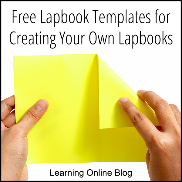 Free Lapbook Templates for Creating Your Own Lapbooks