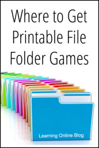 photograph regarding Printable File Folder Games referred to as In which toward Attain Printable History Folder Game titles